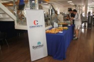 Consciente e Bambuí oferecem café da manhã aos clientes da Athletics