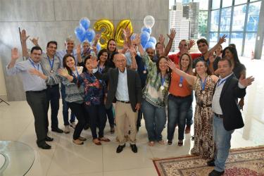 Consciente celebra seu 34º aniversário junto com colaboradores