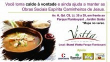 Caldo beneficente no Vistta Parque Flamboyant