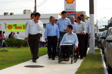 Iniciativa da Consciente Construtora e Incorporadora foi precursora do projeto da Lei das Calçadas