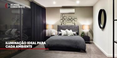 Iluminação ideal para cada ambiente