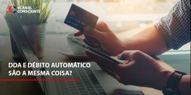 DDA e Débito automático são a mesma coisa?