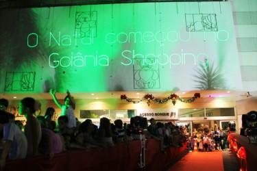 O Natal começou no Goiânia Shopping