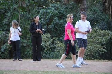 Corretores da Consciente realizam ação no Parque Flamboyant