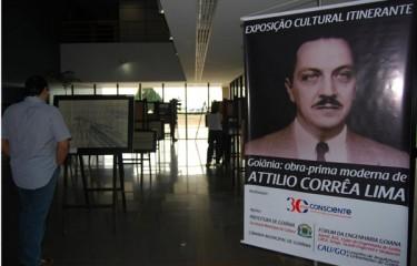 Governador Marconi Perillo parabeniza Consciente Construtora por Exposição Itinerante