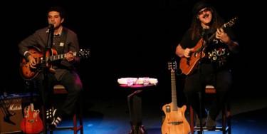 Moraes Moreira e Davi Moraes se apresentam no Música no Campus