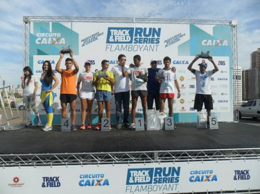 Atletas da Consciente vitoriosos em corrida