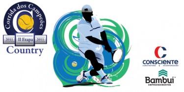 Confira como foi o torneio de Tênis do Country Clube patrocinado pela Consciente e Bambuí