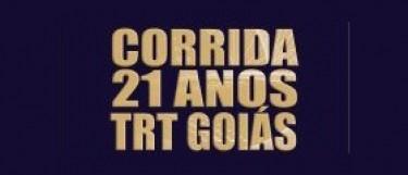 Corrida em comemoração aos 21 anos do TRT Goiás